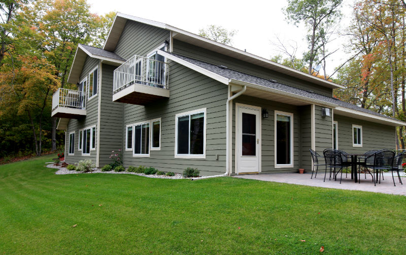 2 Bedroom Home two bedroom luxury home with guest suite - east silent resort