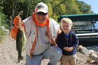 John and Louis fishing photo
