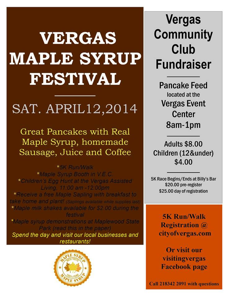 Vergas Maple Syrup Festival