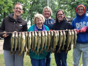Minnesota Family Fishing Vacation family photo