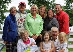 Minnesota Family Vacation family photo