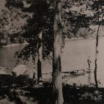 This is the earliest picture of Silent Lake in 1915. The photo was taken with daughter Louise's box camera which she received as a high school graduation gift in 1914.