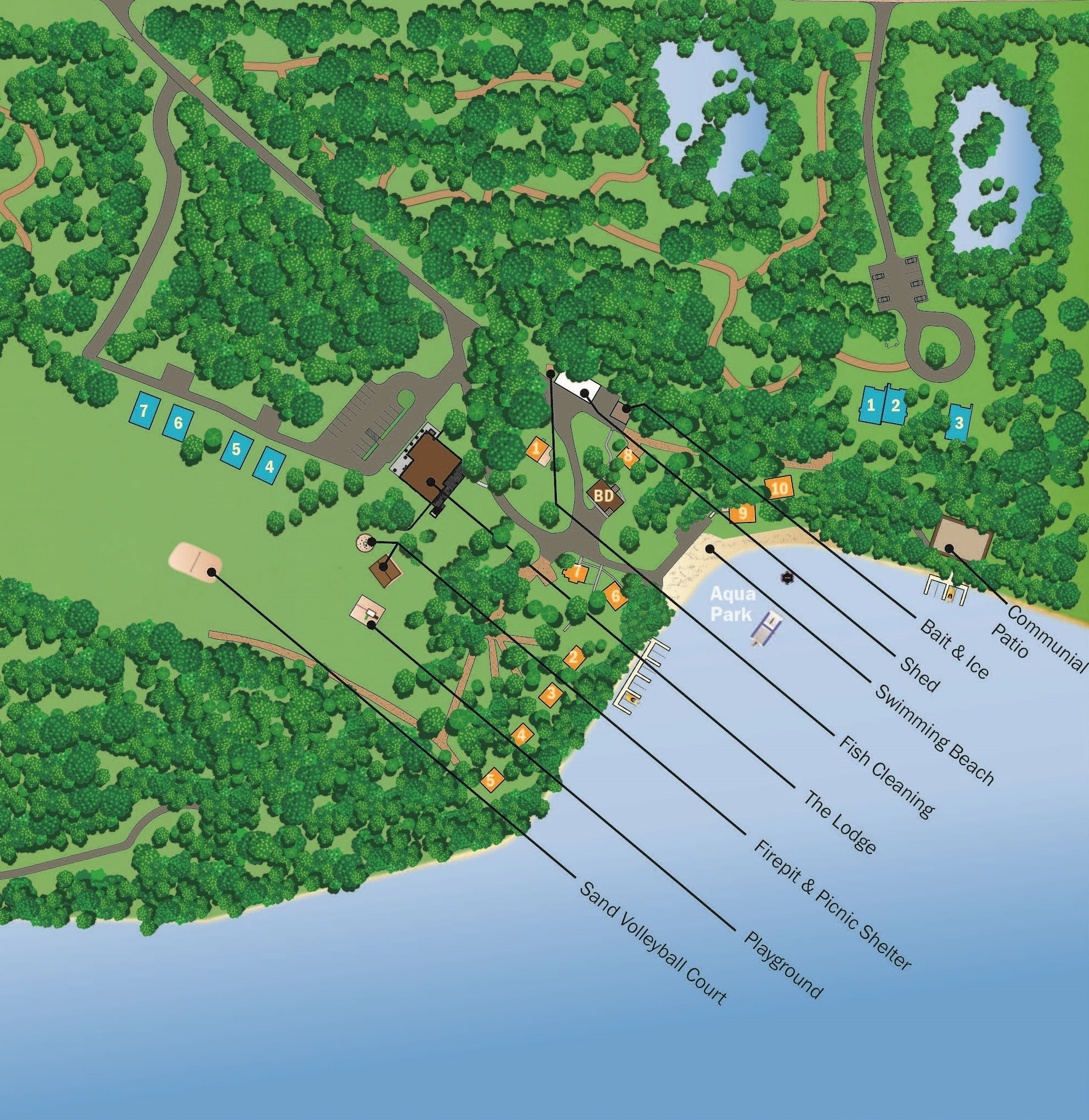 Sitemap: East Silent Resort