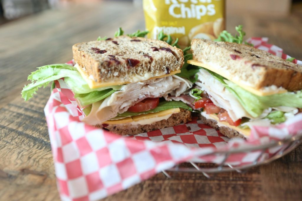 Delicious Cafe Sandwich with Chips