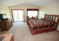 two bedroom guest suite silent lake